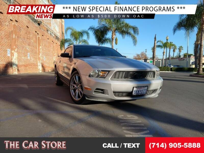 2010 Ford Mustang for sale at The Car Store in Santa Ana CA