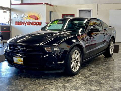 2011 Ford Mustang for sale at EL SOL AUTO MART in Franklin Park IL