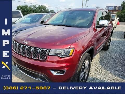 2018 Jeep Grand Cherokee for sale at Impex Auto Sales in Greensboro NC