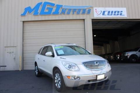 2011 Buick Enclave for sale at MGI Motors in Sacramento CA