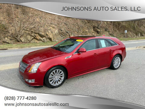 2010 Cadillac CTS for sale at Johnsons Auto Sales, LLC in Marshall NC