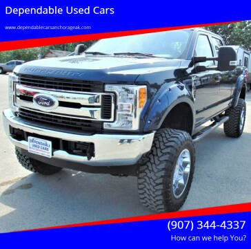 2017 Ford F-350 Super Duty for sale at Dependable Used Cars in Anchorage AK