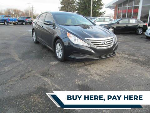 2014 Hyundai Sonata for sale at Jamestown Auto Sales, Inc. in Xenia OH