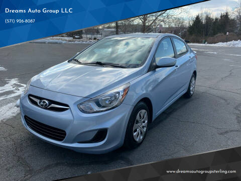 2013 Hyundai Accent for sale at Dreams Auto Group LLC in Sterling VA
