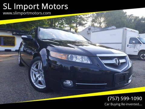2008 Acura TL for sale at SL Import Motors in Newport News VA
