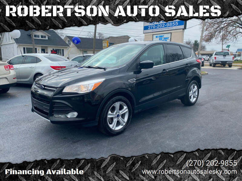 2014 Ford Escape for sale at ROBERTSON AUTO SALES in Bowling Green KY