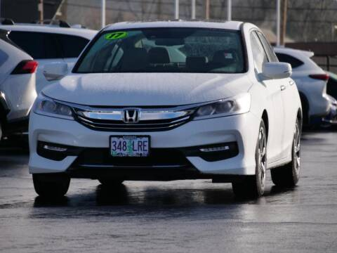 2017 Honda Accord for sale at CLINT NEWELL USED CARS in Roseburg OR
