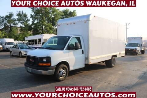 2014 GMC Savana Cutaway for sale at Your Choice Autos - Waukegan in Waukegan IL
