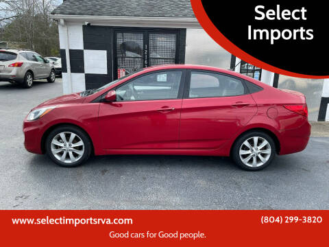 2013 Hyundai Accent for sale at Select Imports in Ashland VA