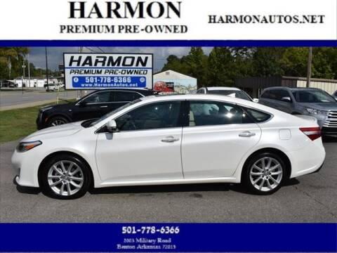 2015 Toyota Avalon for sale at Harmon Premium Pre-Owned in Benton AR