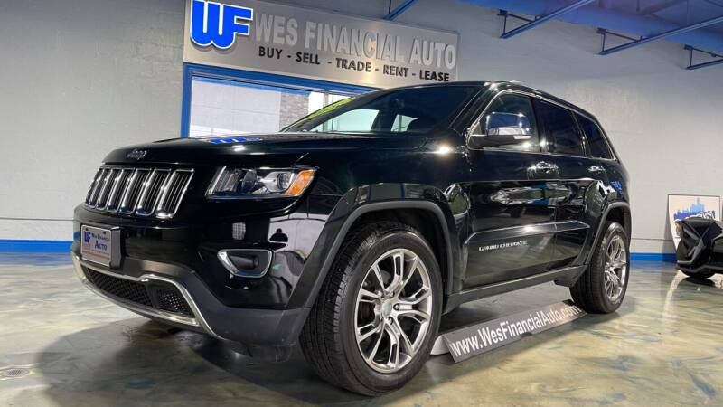 2014 Jeep Grand Cherokee for sale at Wes Financial Auto in Dearborn Heights MI
