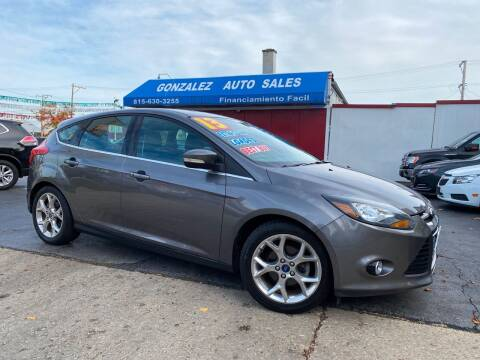 2013 Ford Focus for sale at Gonzalez Auto Sales in Joliet IL