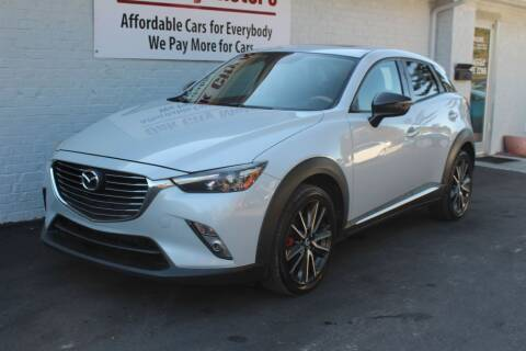 2016 Mazda CX-3 for sale at Oak City Motors in Garner NC