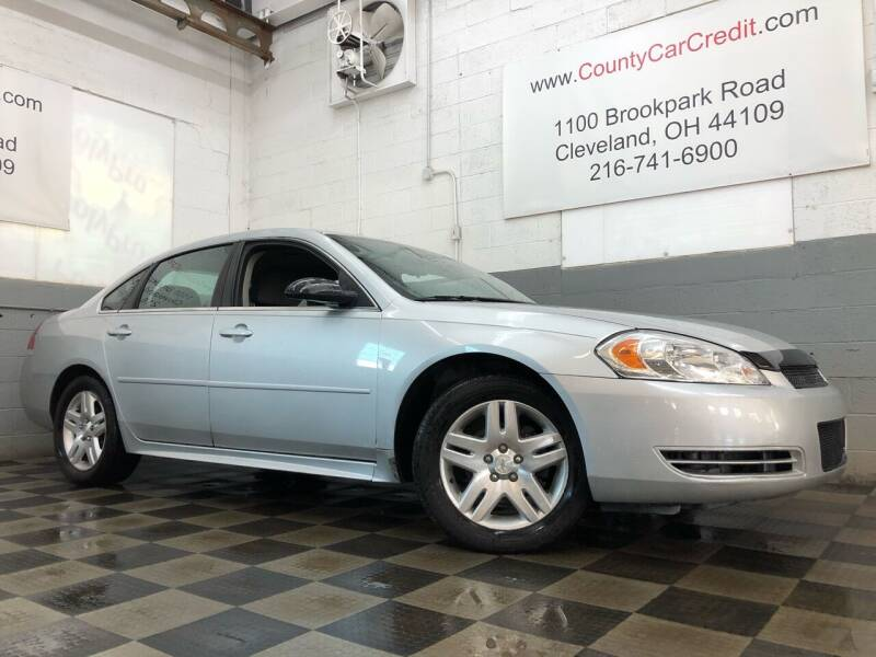 2016 Chevrolet Impala Limited for sale at County Car Credit in Cleveland OH