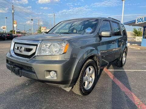 2009 Honda Pilot for sale at SOLID MOTORS LLC in Garland TX