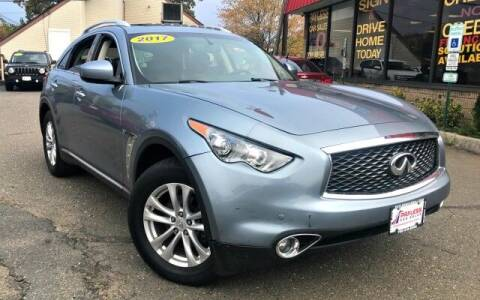 2017 Infiniti QX70 for sale at PAYLESS CAR SALES of South Amboy in South Amboy NJ