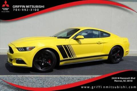 2017 Ford Mustang for sale at Griffin Mitsubishi in Monroe NC