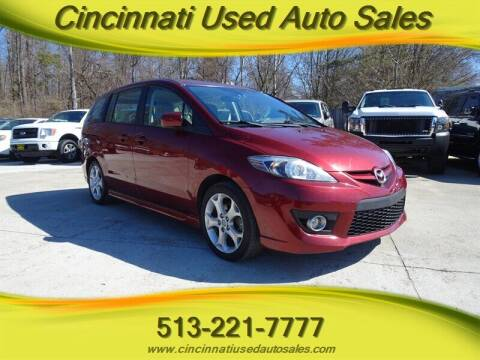 2010 Mazda MAZDA5 for sale at Cincinnati Used Auto Sales in Cincinnati OH