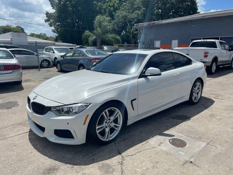2015 BMW 4 Series for sale at P J Auto Trading Inc in Orlando FL