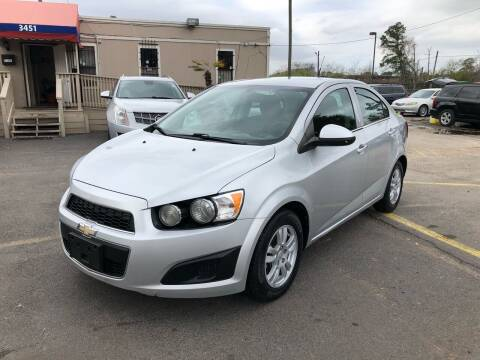 2014 Chevrolet Sonic for sale at Saipan Auto Sales in Houston TX