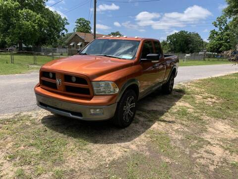 2010 Dodge Ram Pickup 1500 for sale at THE COLISEUM MOTORS in Pensacola FL