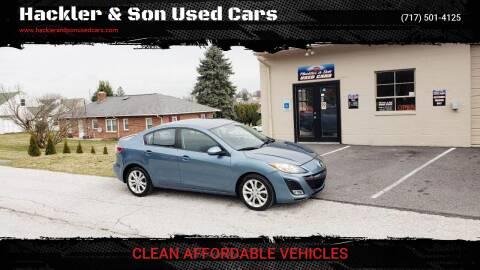 2011 Mazda MAZDA3 for sale at Hackler & Son Used Cars in Red Lion PA