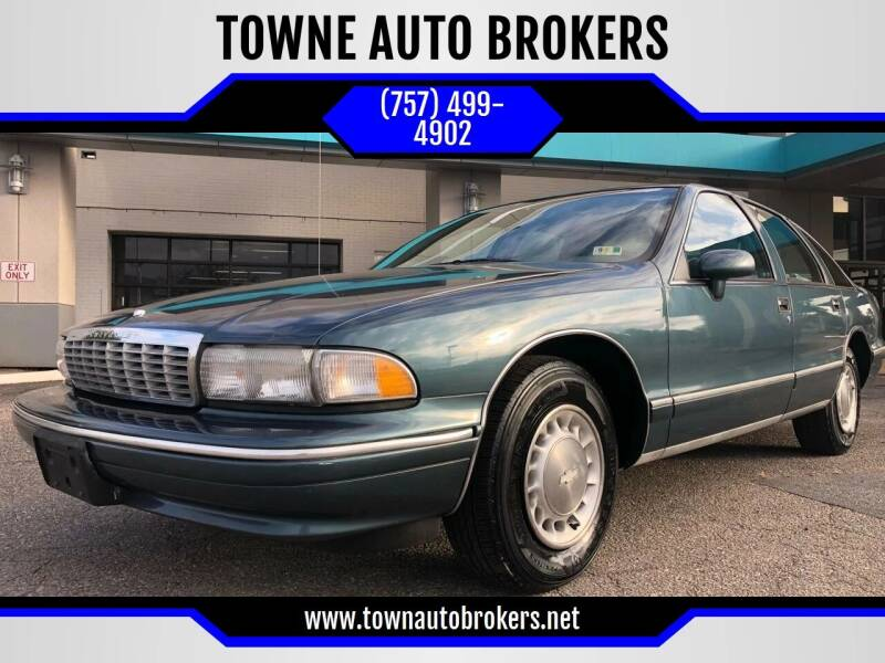 1994 Chevrolet Caprice for sale at TOWNE AUTO BROKERS in Virginia Beach VA