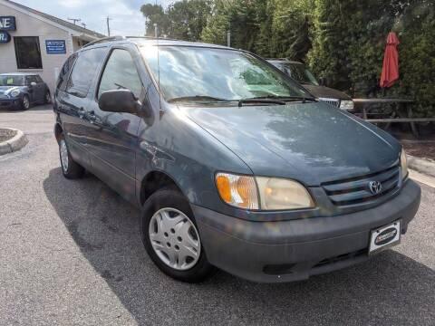 2003 Toyota Sienna for sale at Driveway Motors in Virginia Beach VA