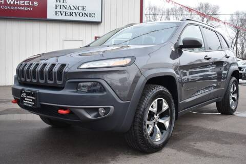2015 Jeep Cherokee for sale at Dealswithwheels in Inver Grove Heights/Hastings MN