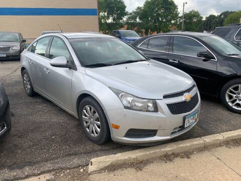 2011 Chevrolet Cruze for sale at BEAR CREEK AUTO SALES in Rochester MN