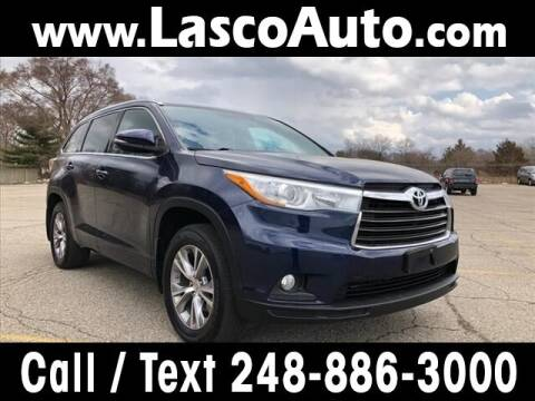 2015 Toyota Highlander for sale at Lasco of Waterford in Waterford MI
