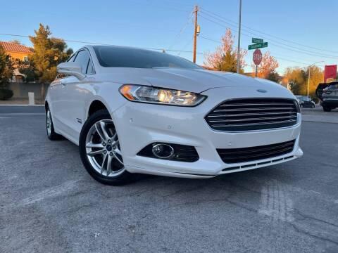 2016 Ford Fusion Energi for sale at Boktor Motors in Las Vegas NV