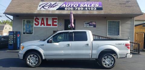 2012 Ford F-150 for sale at Ritz Auto Sales, LLC in Paintsville KY