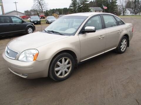 2007 Ford Five Hundred for sale at D & T AUTO INC in Columbus MN