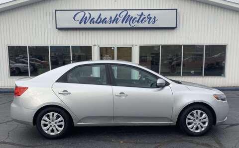 2013 Kia Forte for sale at Wabash Motors in Terre Haute IN