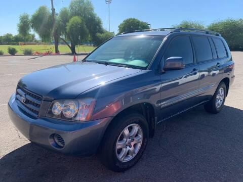 2002 Toyota Highlander for sale at Premier Motors AZ in Phoenix AZ