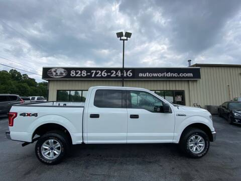 2016 Ford F-150 for sale at AutoWorld of Lenoir in Lenoir NC
