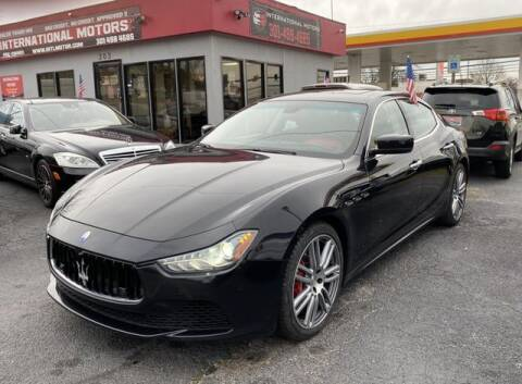 2015 Maserati Ghibli for sale at International Motors in Laurel MD