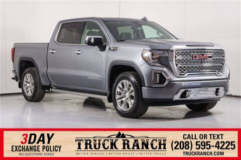 2019 GMC Sierra 1500 for sale at Truck Ranch in Twin Falls ID