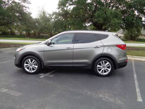 2014 Hyundai Santa Fe Sport for sale at BALKCUM AUTO INC in Wilmington NC