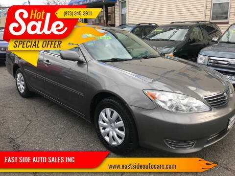 2005 Toyota Camry for sale at EAST SIDE AUTO SALES INC in Paterson NJ
