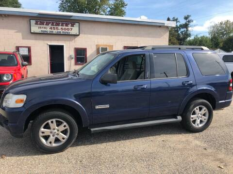 2007 Ford Explorer for sale at Infinity Auto Group in Grand Rapids MI