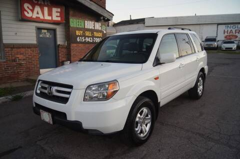 2008 Honda Pilot for sale at Green Ride Inc in Nashville TN