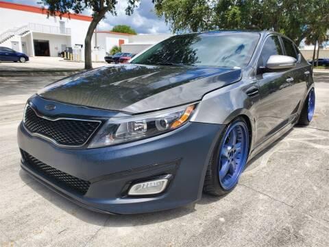 2015 Kia Optima for sale at Florida Fine Cars - West Palm Beach in West Palm Beach FL