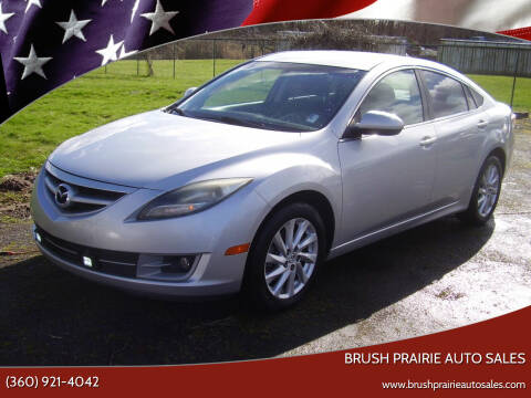 2012 Mazda MAZDA6 for sale at Brush Prairie Auto Sales in Battle Ground WA