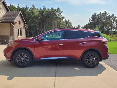 2018 Nissan Murano for sale at STAPLES AUTO SALES in Staples MN