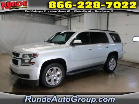 2017 Chevrolet Tahoe for sale at Runde Chevrolet in East Dubuque IL