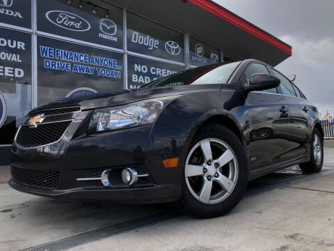 2014 Chevrolet Cruze for sale at VR Automobiles in National City CA