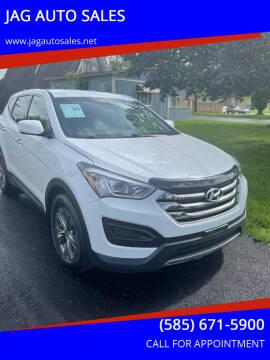 2015 Hyundai Santa Fe Sport for sale at JAG AUTO in Webster NY