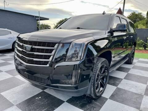 2018 Cadillac Escalade ESV for sale at Imperial Capital Cars Inc in Miramar FL